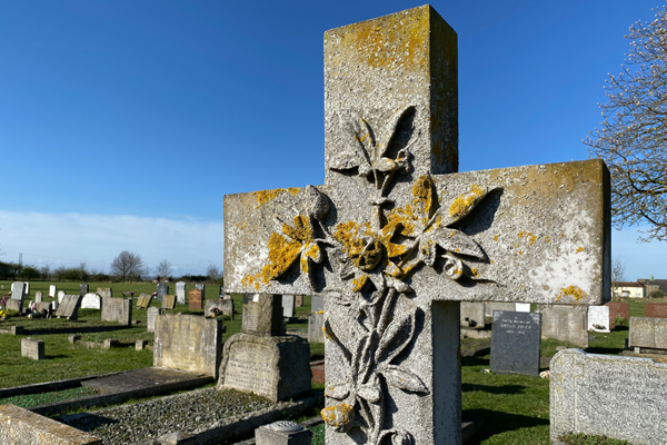 Tollesbury Parish Council, Cemetery Carving