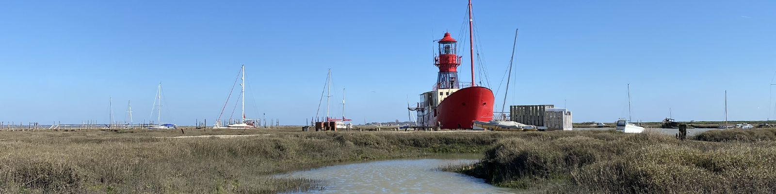 Tollesbury Parish Council, Agendas And Minutes, View Of The Lightship From The Saltings