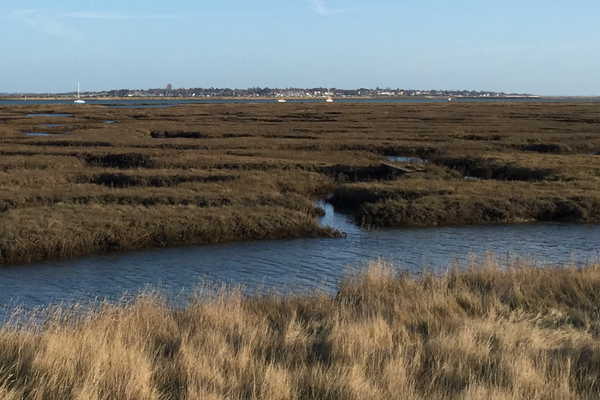 Tollesbury Parish Council, Crime Prevention, Creek Marshes At High Tide