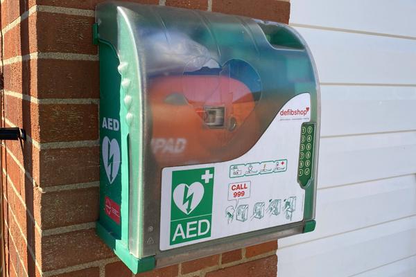Tollesbury Parish Council, Defibrillator, Fire Station