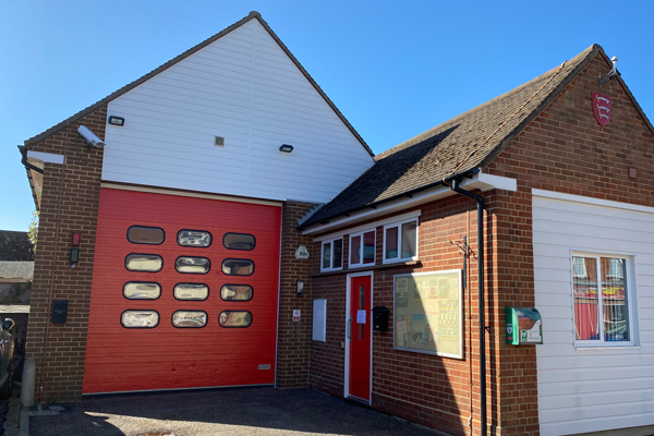 Tollesbury Parish Council, Defibrillator, Found At Tollesbury Fire Station