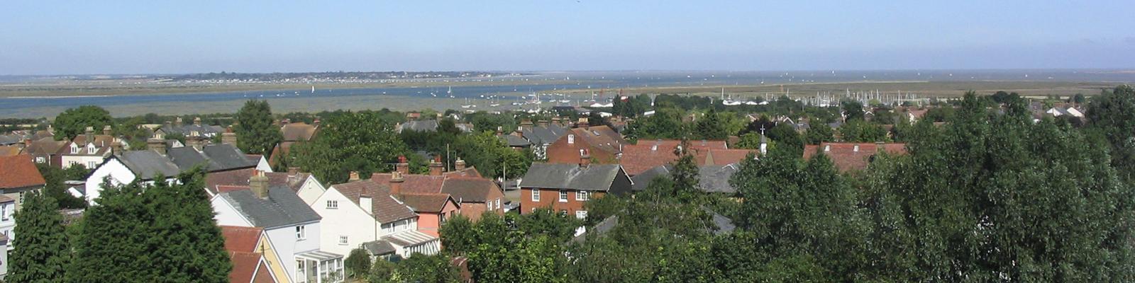 Tollesbury Parish Council, Neighbourhood Plan, View Over Tollesbury