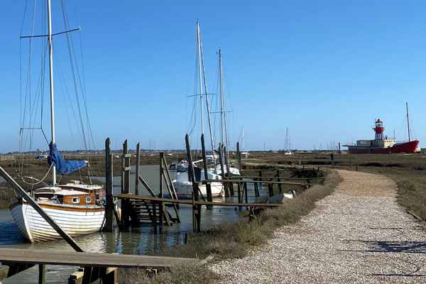 Tollesbury Parish Council, Our MP And District Councillors, Boats Moored In The Saltings