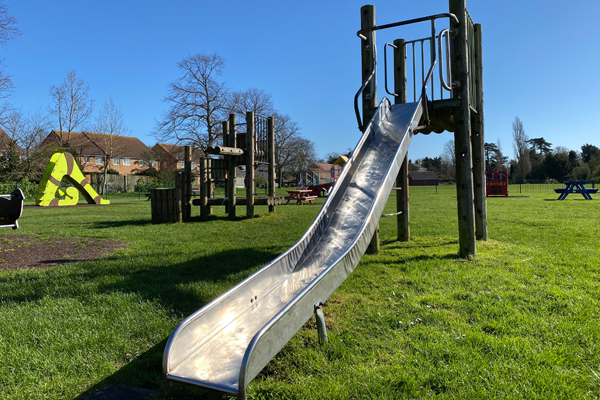 Tollesbury Parish Council, Recreation Ground, Play Area Slide