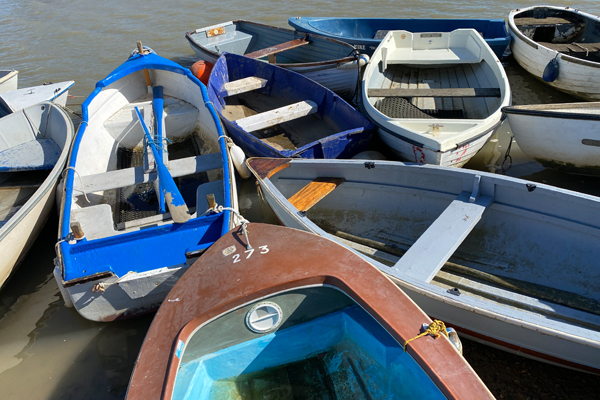 Tollesbury Parish Council, Woodrolfe Hard, Dinghies And Boats
