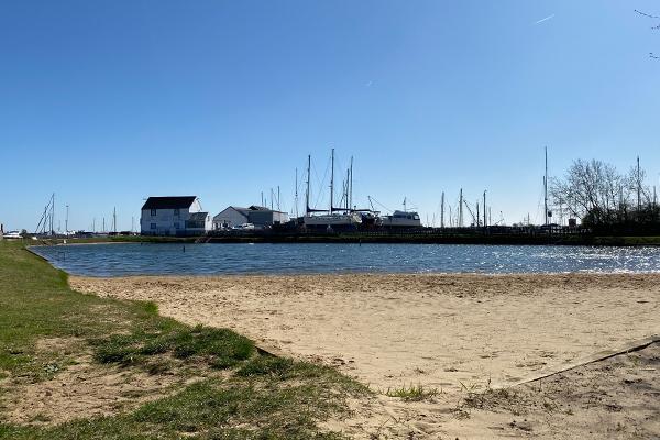 Tollesbury Parish Council, Woodup Pool Beach