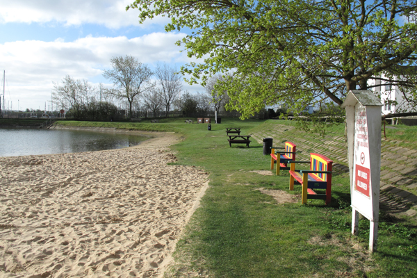 Tollesbury Parish Council, Woodup Pool Committee, Woodup Pool Picnic Area